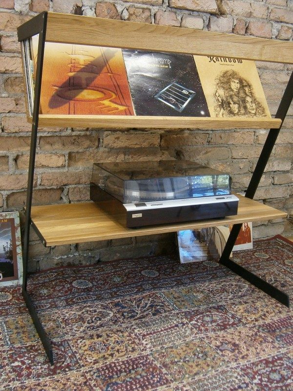 Schallplatten Tisch LP Ständer Vinyl Regal